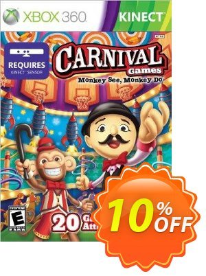 Carnival Games Monkey See Monkey Do Xbox 360 - Digital Code discount coupon Carnival Games Monkey See Monkey Do Xbox 360 - Digital Code Deal - Carnival Games Monkey See Monkey Do Xbox 360 - Digital Code Exclusive Easter Sale offer for iVoicesoft