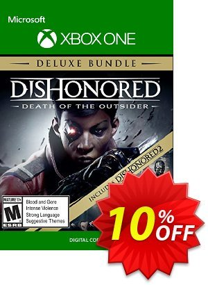 Dishonored: Death of the Outsider - Deluxe Bundle Xbox One discount coupon Dishonored: Death of the Outsider - Deluxe Bundle Xbox One Deal - Dishonored: Death of the Outsider - Deluxe Bundle Xbox One Exclusive Easter Sale offer for iVoicesoft