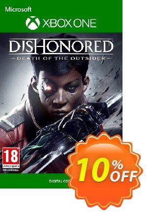 Dishonored Death of the Outsider Xbox One discount coupon Dishonored Death of the Outsider Xbox One Deal - Dishonored Death of the Outsider Xbox One Exclusive Easter Sale offer for iVoicesoft