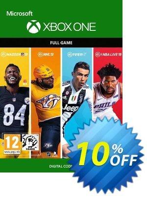 EA Sports 19 Bundle Xbox One 프로모션 코드 EA Sports 19 Bundle Xbox One Deal 프로모션: EA Sports 19 Bundle Xbox One Exclusive Easter Sale offer for iVoicesoft