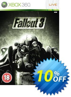 Fallout 3 Xbox 360 - Digital Code Coupon discount Fallout 3 Xbox 360 - Digital Code Deal. Promotion: Fallout 3 Xbox 360 - Digital Code Exclusive Easter Sale offer for iVoicesoft