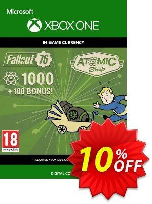 Fallout 76 - 1100 Atoms Xbox One discount coupon Fallout 76 - 1100 Atoms Xbox One Deal - Fallout 76 - 1100 Atoms Xbox One Exclusive Easter Sale offer for iVoicesoft