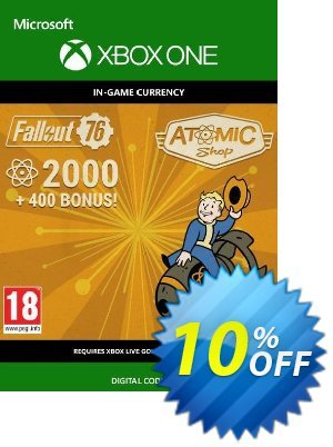 Fallout 76 - 2400 Atoms Xbox One 優惠券,折扣碼 Fallout 76 - 2400 Atoms Xbox One Deal,促銷代碼: Fallout 76 - 2400 Atoms Xbox One Exclusive Easter Sale offer for iVoicesoft