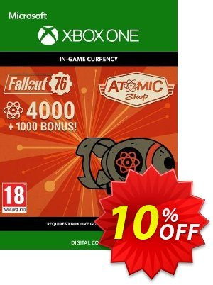 Fallout 76 - 5000 Atoms Xbox One 優惠券,折扣碼 Fallout 76 - 5000 Atoms Xbox One Deal,促銷代碼: Fallout 76 - 5000 Atoms Xbox One Exclusive Easter Sale offer for iVoicesoft