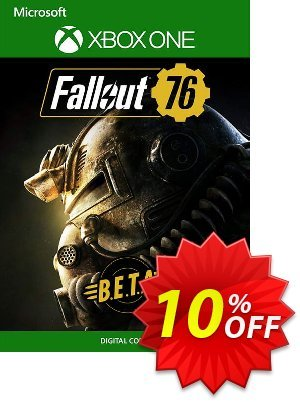 Fallout 76 BETA Xbox One 프로모션 코드 Fallout 76 BETA Xbox One Deal 프로모션: Fallout 76 BETA Xbox One Exclusive Easter Sale offer for iVoicesoft