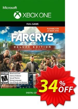 Far Cry 5 Deluxe Edition Xbox One discount coupon Far Cry 5 Deluxe Edition Xbox One Deal - Far Cry 5 Deluxe Edition Xbox One Exclusive Easter Sale offer for iVoicesoft