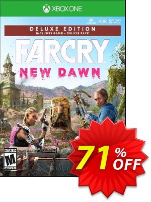 Far Cry New Dawn - Deluxe Edition Xbox One discount coupon Far Cry New Dawn - Deluxe Edition Xbox One Deal - Far Cry New Dawn - Deluxe Edition Xbox One Exclusive Easter Sale offer for iVoicesoft