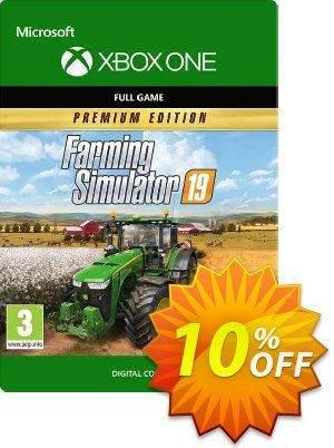 Farming Simulator 19: Premium Edition Xbox One Coupon, discount Farming Simulator 19: Premium Edition Xbox One Deal. Promotion: Farming Simulator 19: Premium Edition Xbox One Exclusive Easter Sale offer for iVoicesoft