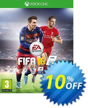 FIFA 16 Xbox One - Digital Code 優惠券,折扣碼 FIFA 16 Xbox One - Digital Code Deal,促銷代碼: FIFA 16 Xbox One - Digital Code Exclusive Easter Sale offer for iVoicesoft