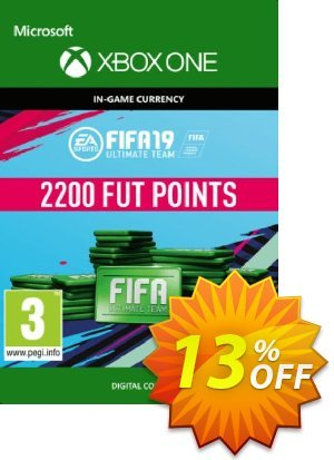 Fifa 19 - 2200 FUT Points (Xbox One) 優惠券,折扣碼 Fifa 19 - 2200 FUT Points (Xbox One) Deal,促銷代碼: Fifa 19 - 2200 FUT Points (Xbox One) Exclusive Easter Sale offer for iVoicesoft
