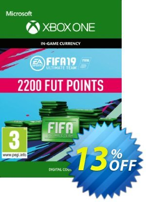 Fifa 19 - 2200 FUT Points (Xbox One) discount coupon Fifa 19 - 2200 FUT Points (Xbox One) Deal - Fifa 19 - 2200 FUT Points (Xbox One) Exclusive Easter Sale offer for iVoicesoft