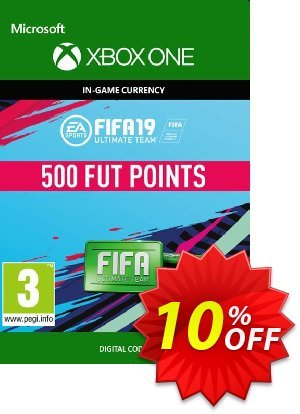 Fifa 19 - 500 FUT Points (Xbox One) 優惠券,折扣碼 Fifa 19 - 500 FUT Points (Xbox One) Deal,促銷代碼: Fifa 19 - 500 FUT Points (Xbox One) Exclusive Easter Sale offer for iVoicesoft