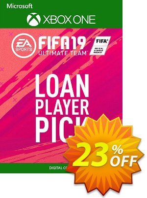 FIFA 19 Ultimate Team Loan Player Pick Xbox One discount coupon FIFA 19 Ultimate Team Loan Player Pick Xbox One Deal - FIFA 19 Ultimate Team Loan Player Pick Xbox One Exclusive Easter Sale offer for iVoicesoft
