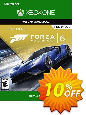 Forza Motorsport 6 Ultimate Edition Xbox One - Digital Code Coupon discount Forza Motorsport 6 Ultimate Edition Xbox One - Digital Code Deal. Promotion: Forza Motorsport 6 Ultimate Edition Xbox One - Digital Code Exclusive Easter Sale offer for iVoicesoft