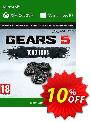 Gears 5: 1,000 Iron Xbox One discount coupon Gears 5: 1,000 Iron Xbox One Deal - Gears 5: 1,000 Iron Xbox One Exclusive Easter Sale offer for iVoicesoft