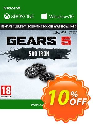 Gears 5: 500 Iron Xbox One discount coupon Gears 5: 500 Iron Xbox One Deal - Gears 5: 500 Iron Xbox One Exclusive Easter Sale offer for iVoicesoft
