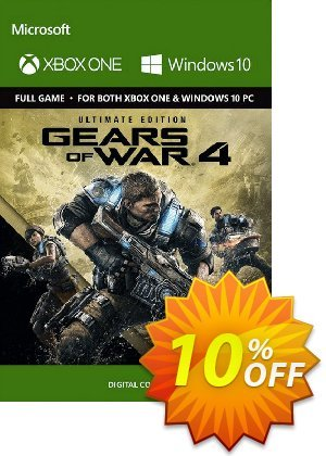 Gears of War 4 Ultimate Edition Xbox One/PC - Digital Code discount coupon Gears of War 4 Ultimate Edition Xbox One/PC - Digital Code Deal - Gears of War 4 Ultimate Edition Xbox One/PC - Digital Code Exclusive Easter Sale offer for iVoicesoft