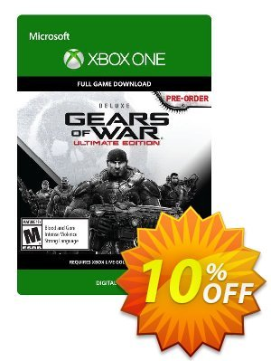 Gears of War: Ultimate Edition Deluxe Xbox One - Digital Code 優惠券,折扣碼 Gears of War: Ultimate Edition Deluxe Xbox One - Digital Code Deal,促銷代碼: Gears of War: Ultimate Edition Deluxe Xbox One - Digital Code Exclusive Easter Sale offer for iVoicesoft