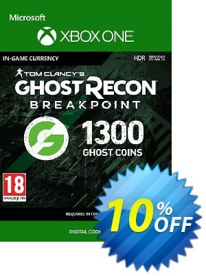 Ghost Recon Breakpoint: 1300 Ghost Coins Xbox One discount coupon Ghost Recon Breakpoint: 1300 Ghost Coins Xbox One Deal - Ghost Recon Breakpoint: 1300 Ghost Coins Xbox One Exclusive Easter Sale offer for iVoicesoft