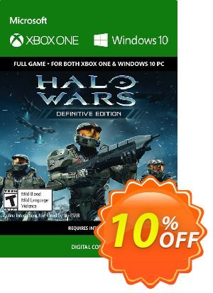 Halo Wars Definitive Edition Xbox One/PC 優惠券,折扣碼 Halo Wars Definitive Edition Xbox One/PC Deal,促銷代碼: Halo Wars Definitive Edition Xbox One/PC Exclusive Easter Sale offer for iVoicesoft