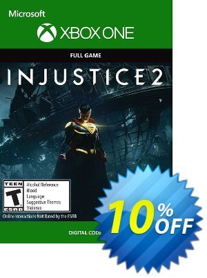 Injustice 2 Xbox One discount coupon Injustice 2 Xbox One Deal - Injustice 2 Xbox One Exclusive Easter Sale offer for iVoicesoft