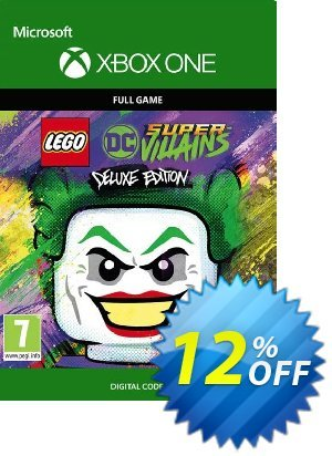 Lego DC Super-Villains Deluxe Edition Xbox One discount coupon Lego DC Super-Villains Deluxe Edition Xbox One Deal - Lego DC Super-Villains Deluxe Edition Xbox One Exclusive Easter Sale offer for iVoicesoft