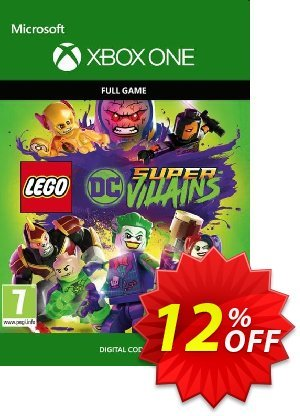 Lego DC Super-Villains Xbox One discount coupon Lego DC Super-Villains Xbox One Deal - Lego DC Super-Villains Xbox One Exclusive Easter Sale offer for iVoicesoft