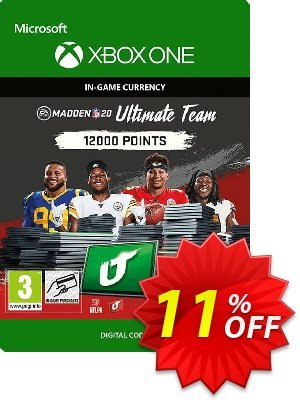 Madden NFL 20 12000 MUT Points Xbox One 優惠券,折扣碼 Madden NFL 20 12000 MUT Points Xbox One Deal,促銷代碼: Madden NFL 20 12000 MUT Points Xbox One Exclusive Easter Sale offer for iVoicesoft