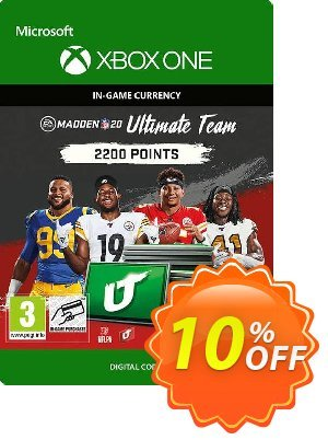 Madden NFL 20 2200 MUT Points Xbox One 프로모션 코드 Madden NFL 20 2200 MUT Points Xbox One Deal 프로모션: Madden NFL 20 2200 MUT Points Xbox One Exclusive Easter Sale offer for iVoicesoft