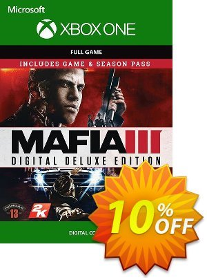 Mafia III 3 Digital Deluxe Xbox One discount coupon Mafia III 3 Digital Deluxe Xbox One Deal - Mafia III 3 Digital Deluxe Xbox One Exclusive Easter Sale offer for iVoicesoft