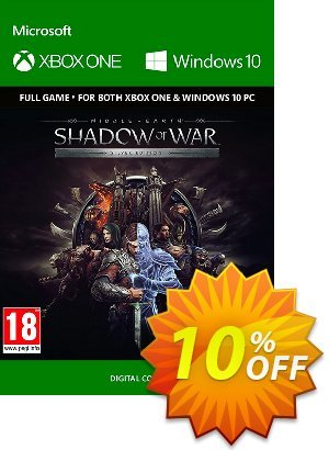 Middle-Earth: Shadow of War Silver Edition Xbox One / PC discount coupon Middle-Earth: Shadow of War Silver Edition Xbox One / PC Deal - Middle-Earth: Shadow of War Silver Edition Xbox One / PC Exclusive Easter Sale offer for iVoicesoft