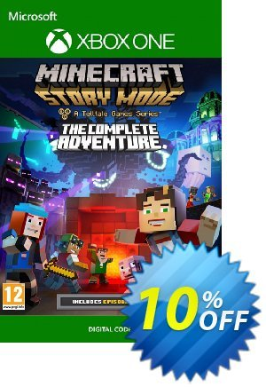 Minecraft Story Mode Complete Adventure Xbox One 優惠券,折扣碼 Minecraft Story Mode Complete Adventure Xbox One Deal,促銷代碼: Minecraft Story Mode Complete Adventure Xbox One Exclusive Easter Sale offer for iVoicesoft