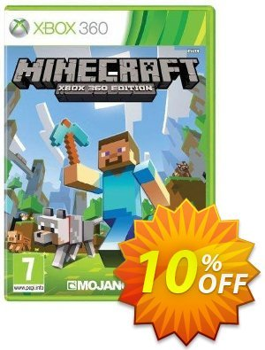 Minecraft Xbox 360 - Digital Code discount coupon Minecraft Xbox 360 - Digital Code Deal - Minecraft Xbox 360 - Digital Code Exclusive Easter Sale offer for iVoicesoft