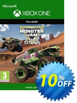 Monster Jam Steel Titans Xbox One 프로모션 코드 Monster Jam Steel Titans Xbox One Deal 프로모션: Monster Jam Steel Titans Xbox One Exclusive Easter Sale offer for iVoicesoft