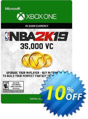 NBA 2K19: 35,000 VC Xbox One 優惠券,折扣碼 NBA 2K19: 35,000 VC Xbox One Deal,促銷代碼: NBA 2K19: 35,000 VC Xbox One Exclusive Easter Sale offer for iVoicesoft