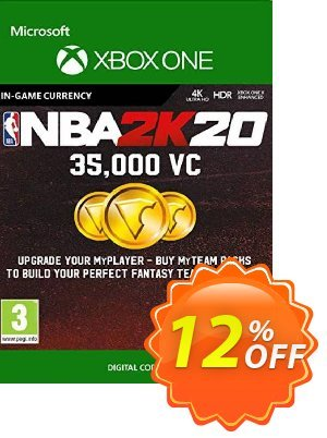 NBA 2K20: 35,000 VC Xbox One 優惠券,折扣碼 NBA 2K20: 35,000 VC Xbox One Deal,促銷代碼: NBA 2K20: 35,000 VC Xbox One Exclusive Easter Sale offer for iVoicesoft