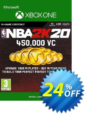 NBA 2K20: 450,000 VC Xbox One discount coupon NBA 2K20: 450,000 VC Xbox One Deal - NBA 2K20: 450,000 VC Xbox One Exclusive Easter Sale offer for iVoicesoft