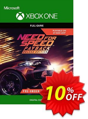 Need for Speed Payback Deluxe Edition Upgrade Xbox One discount coupon Need for Speed Payback Deluxe Edition Upgrade Xbox One Deal - Need for Speed Payback Deluxe Edition Upgrade Xbox One Exclusive Easter Sale offer for iVoicesoft