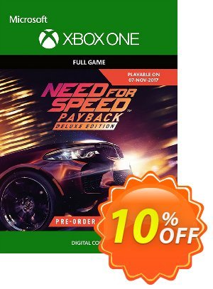 Need for Speed Payback Deluxe Edition Xbox One discount coupon Need for Speed Payback Deluxe Edition Xbox One Deal - Need for Speed Payback Deluxe Edition Xbox One Exclusive Easter Sale offer for iVoicesoft