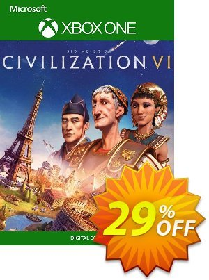 Sid Meier's Civilization VI 6 Xbox One (UK) 프로모션 코드 Sid Meier's Civilization VI 6 Xbox One (UK) Deal 프로모션: Sid Meier's Civilization VI 6 Xbox One (UK) Exclusive Easter Sale offer for iVoicesoft