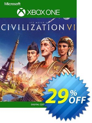 Sid Meier's Civilization VI 6 Xbox One (UK) Coupon discount Sid Meier's Civilization VI 6 Xbox One (UK) Deal. Promotion: Sid Meier's Civilization VI 6 Xbox One (UK) Exclusive Easter Sale offer for iVoicesoft