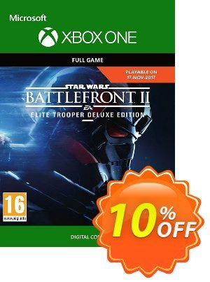 Star Wars Battlefront 2: Elite Trooper Deluxe Edition Xbox One discount coupon Star Wars Battlefront 2: Elite Trooper Deluxe Edition Xbox One Deal - Star Wars Battlefront 2: Elite Trooper Deluxe Edition Xbox One Exclusive Easter Sale offer for iVoicesoft