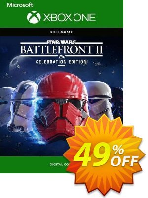 Star Wars Battlefront II 2 - Celebration Edition Xbox One (US) 優惠券,折扣碼 Star Wars Battlefront II 2 - Celebration Edition Xbox One (US) Deal,促銷代碼: Star Wars Battlefront II 2 - Celebration Edition Xbox One (US) Exclusive Easter Sale offer for iVoicesoft