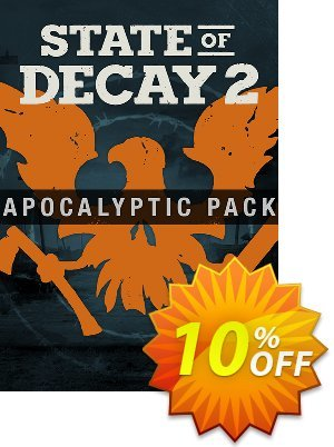State of Decay 2 Apocalyptic Pack DLC Xbox One/PC Coupon discount State of Decay 2 Apocalyptic Pack DLC Xbox One/PC Deal. Promotion: State of Decay 2 Apocalyptic Pack DLC Xbox One/PC Exclusive Easter Sale offer for iVoicesoft