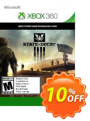 State of Decay Xbox 360 優惠券,折扣碼 State of Decay Xbox 360 Deal,促銷代碼: State of Decay Xbox 360 Exclusive Easter Sale offer for iVoicesoft