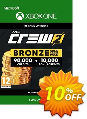 The Crew 2 Bronze Crew Credits Pack Xbox One discount coupon The Crew 2 Bronze Crew Credits Pack Xbox One Deal - The Crew 2 Bronze Crew Credits Pack Xbox One Exclusive Easter Sale offer for iVoicesoft