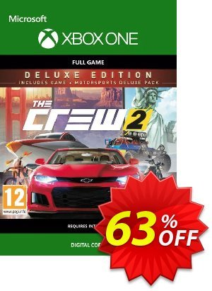 The Crew 2 Deluxe Edition Xbox One 優惠券,折扣碼 The Crew 2 Deluxe Edition Xbox One Deal,促銷代碼: The Crew 2 Deluxe Edition Xbox One Exclusive Easter Sale offer for iVoicesoft