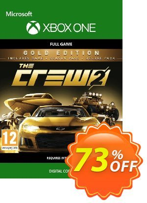 The Crew 2 Gold Edition Xbox One discount coupon The Crew 2 Gold Edition Xbox One Deal - The Crew 2 Gold Edition Xbox One Exclusive Easter Sale offer for iVoicesoft