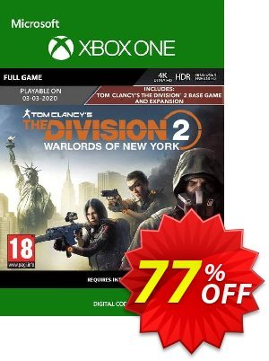 The Division 2 - Warlords of New York Edition Xbox One discount coupon The Division 2 - Warlords of New York Edition Xbox One Deal - The Division 2 - Warlords of New York Edition Xbox One Exclusive Easter Sale offer for iVoicesoft