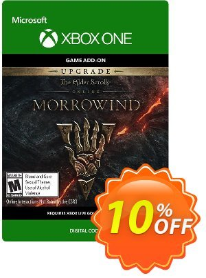 The Elder Scrolls Online Morrowind Upgrade Xbox One discount coupon The Elder Scrolls Online Morrowind Upgrade Xbox One Deal - The Elder Scrolls Online Morrowind Upgrade Xbox One Exclusive Easter Sale offer for iVoicesoft